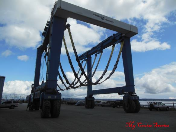 boat lift on wheels