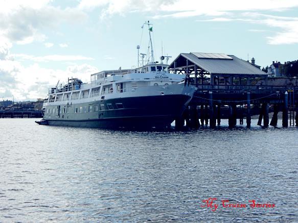 big dock in Port Townsend