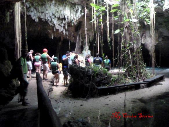 inside a cenote