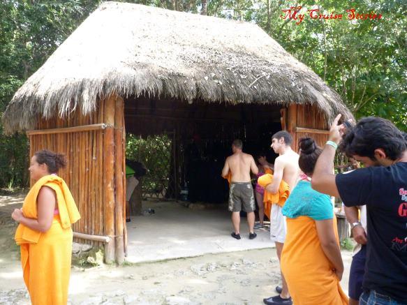 hut at Paloma Cave