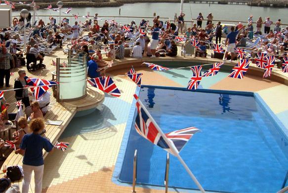 cruise ship party