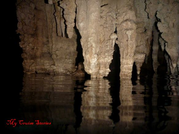 cenote cave in Cozumel