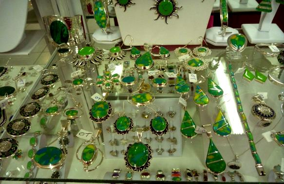 green turqouise jewelry