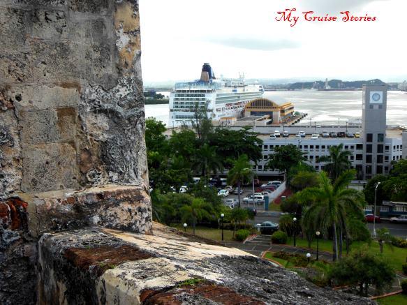 Norwegian ship in Puerto Rico