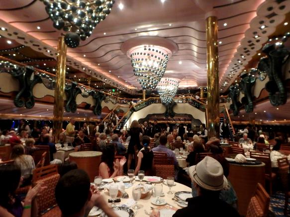 inside the Carnival Splendor