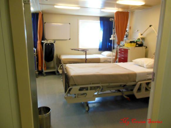 Splendor Hospital Room Cruise Stories