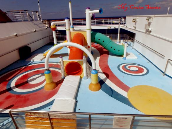 Carnival Splendor splash park