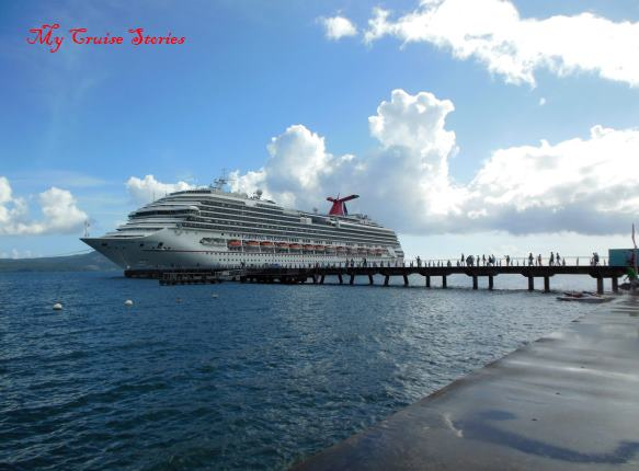 Carnival Splendor in the Caribbean