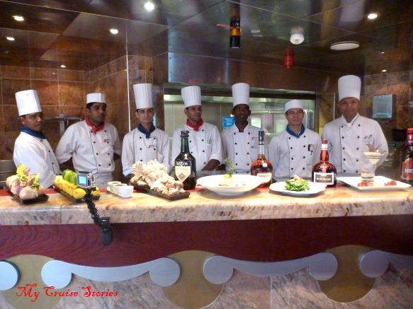 Carnival Splendor steakhouse