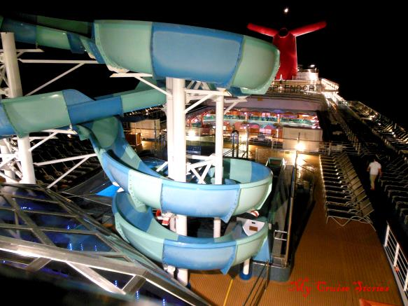 Carnival Splendor waterslide