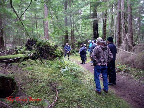 hiking at Deception Pass