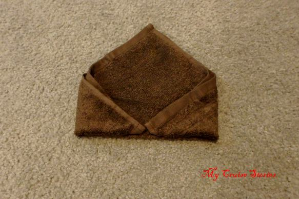 washcloth origami
