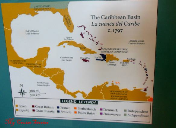 history of Spain's territory in the Caribbean