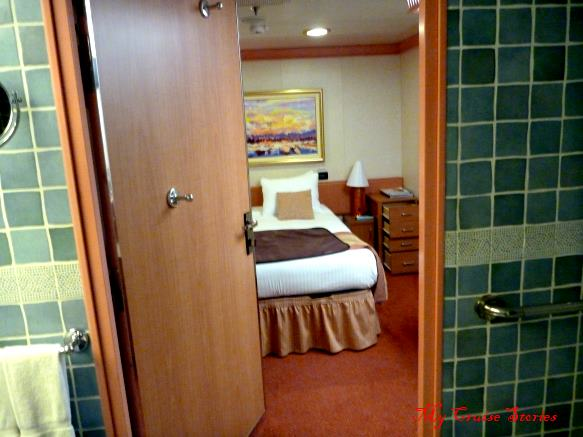 disabled accessible cruise ship cabin