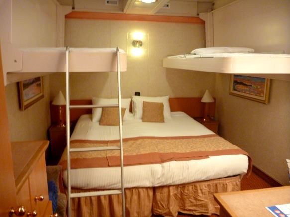 Carnival Fantasy Interior Rooms