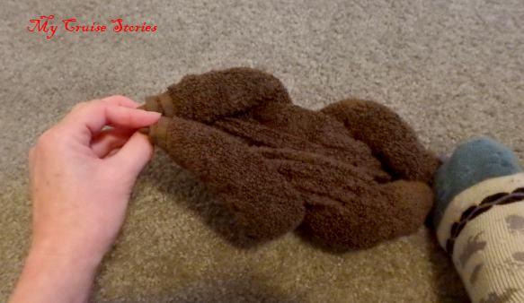 small towel folding
