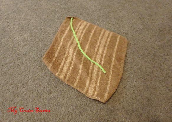 washcloth animal folding