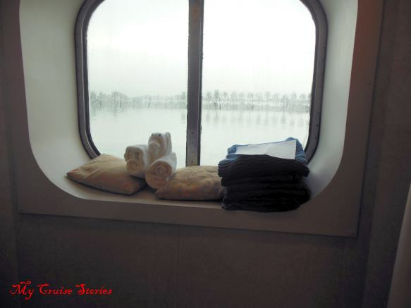cruise ship cabin window
