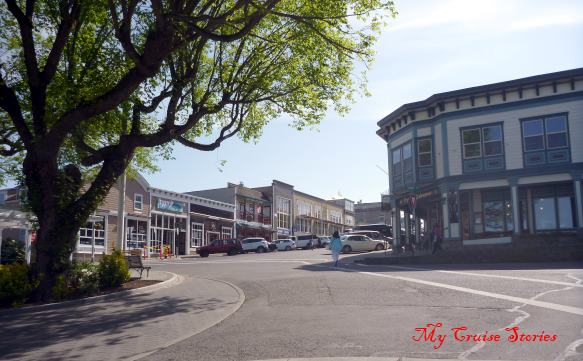 buildings in Friday Harbor