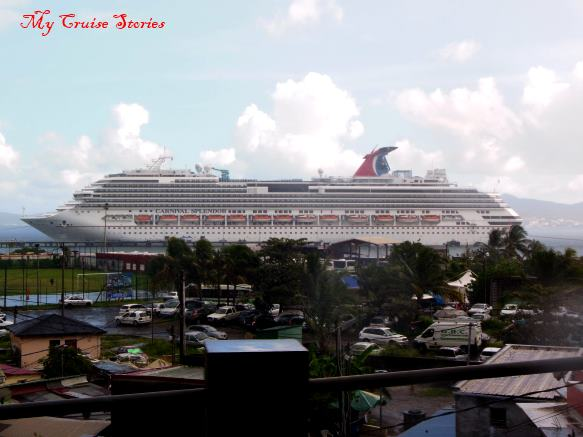 Carnival Splendor in Martinique