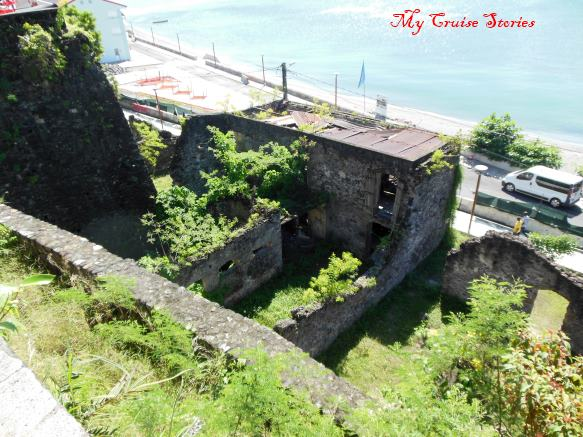 ruins from 1902 volcanic blast