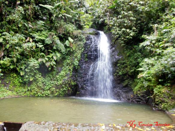 waterfall in Martinique