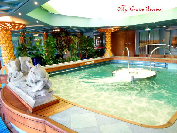 spa pool on cruise ship