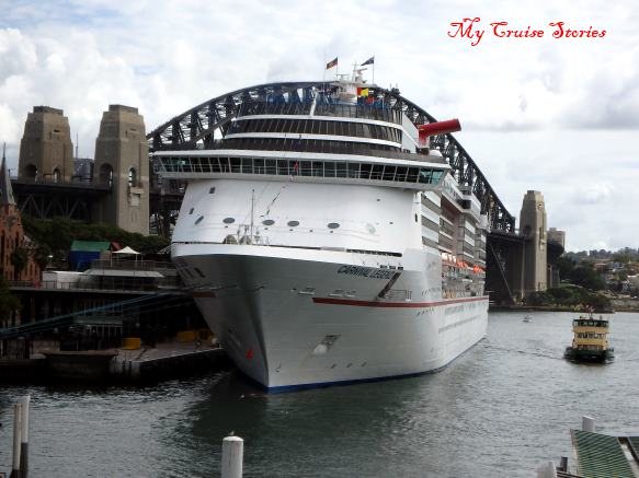 Carnival Legend at Circular Quay