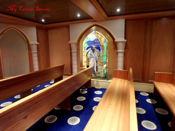 cruise ship chapel