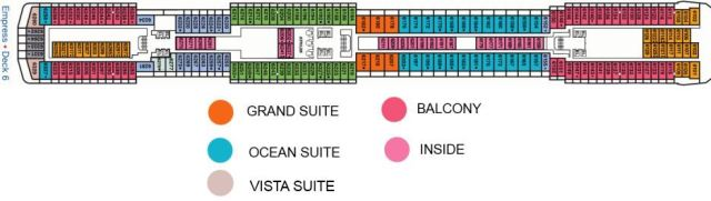 Carnival Legend deck plan