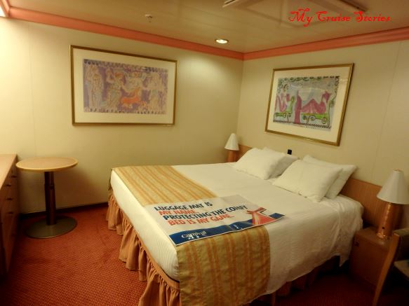 cruise ship inside stateroom