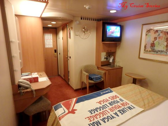 cruise ship inside cabin