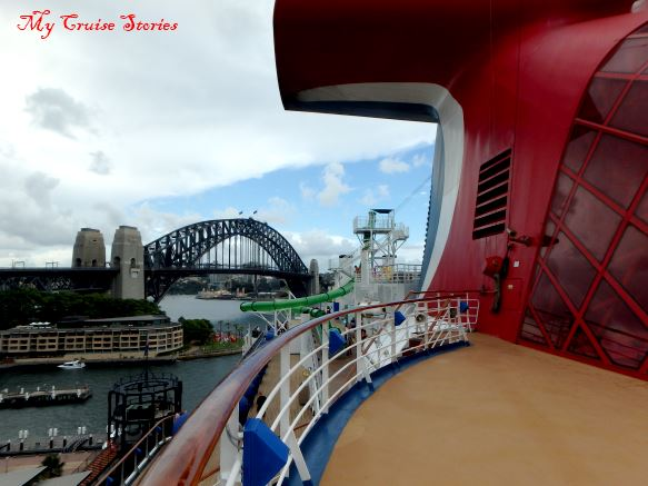 cruise ship in Australia