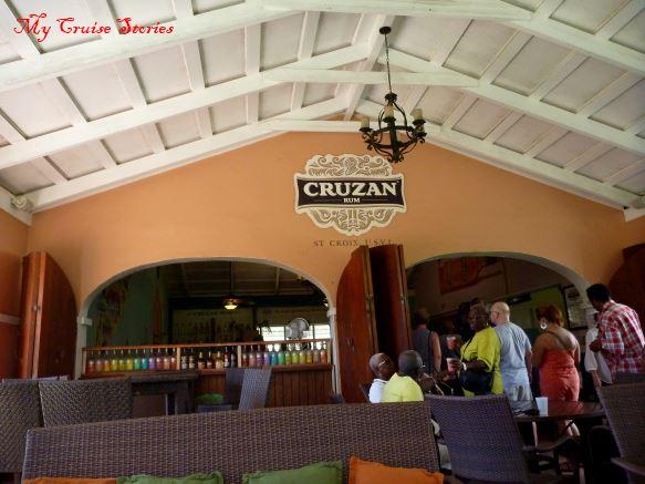 Cruzan Rum on St. Croix