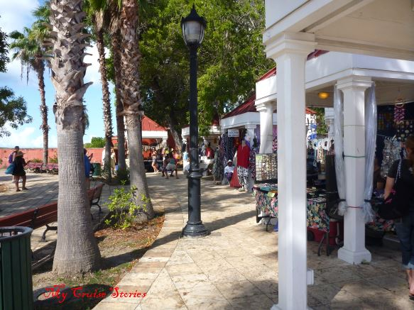 local craft booths on St Croix