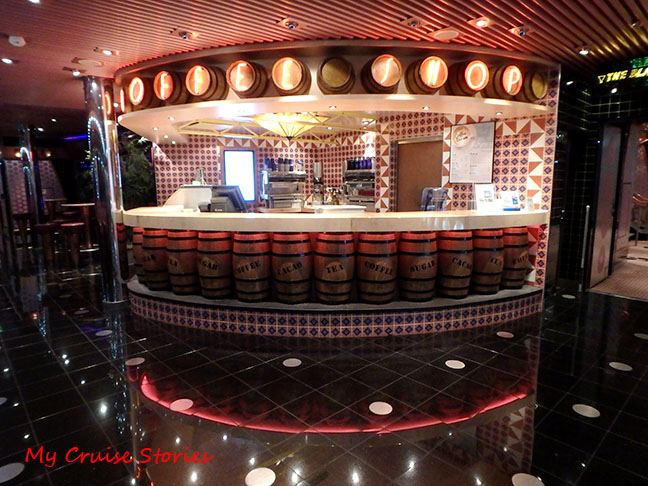 Columbian cafe look