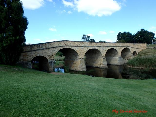 bridge in Tasmania