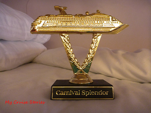 cruise ship trophy