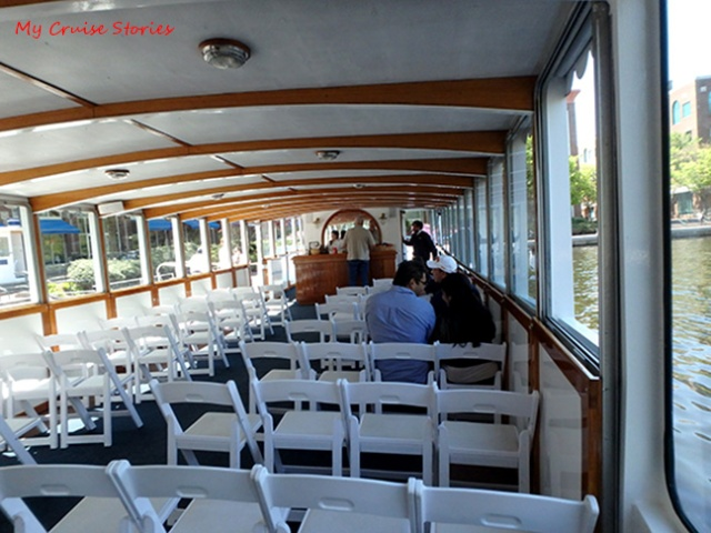 inside the river boat