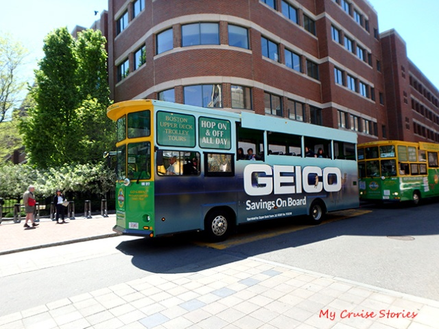 Boston trolley tour