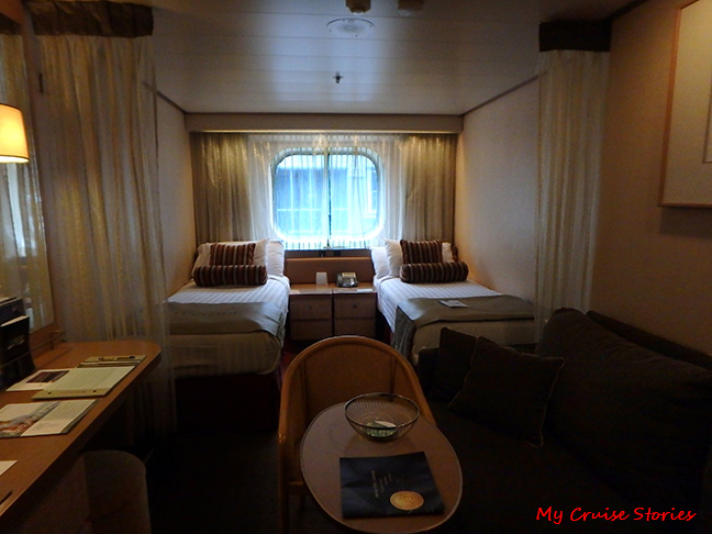 cruise ship stateroom