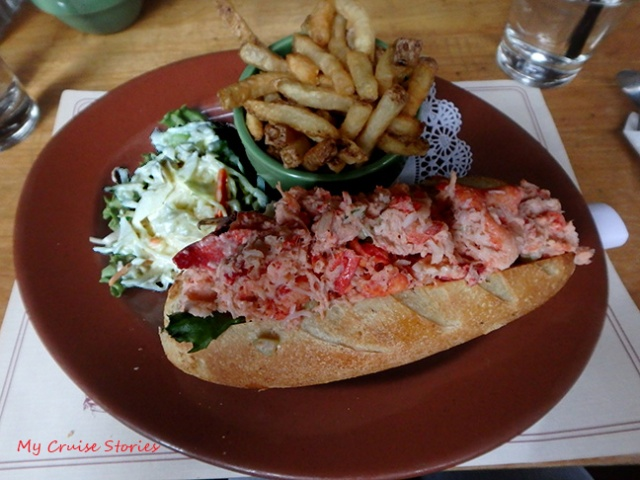 not your average lobster roll