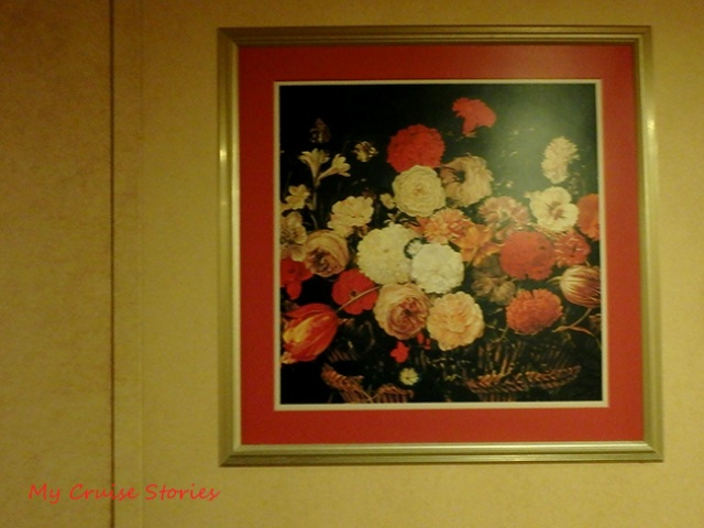 cruise ships have lots of artwork