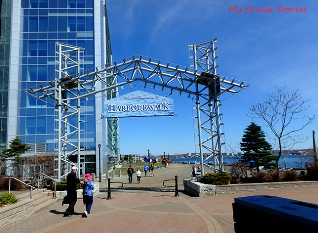 boardwalk in Halifax