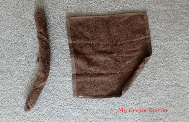 how to make washcloth scorpion claws