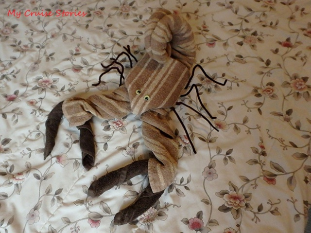 how to fold a towel scorpion