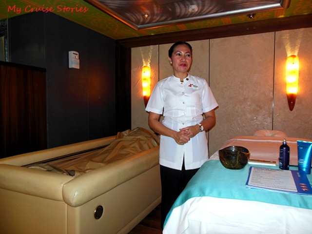 cruise ship spa