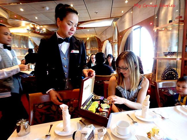 cruise ship tea