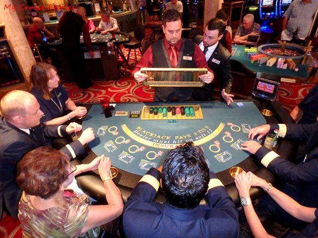 enjoying a smoke-free casino