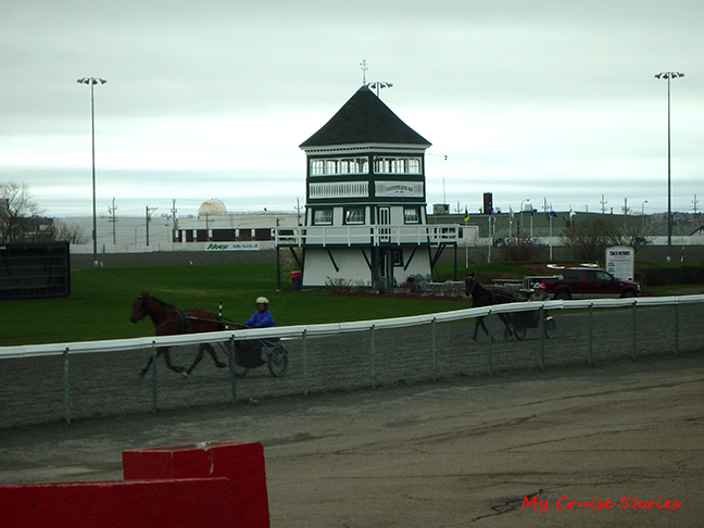 harness racing track